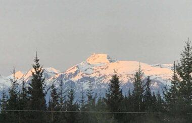 Mountain Views of Homer Alaska
